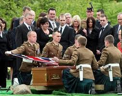 Scotsoldier burial